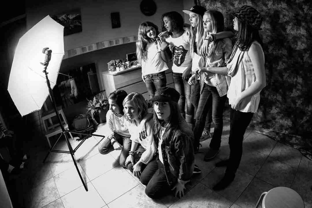 fotoshoot modellenparty Hoofddorp