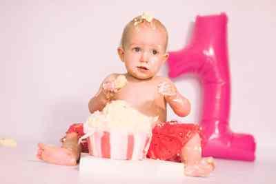cake smash baby fotostudio thuis Nieuw-Vennep Hoofddorp Getsewoud