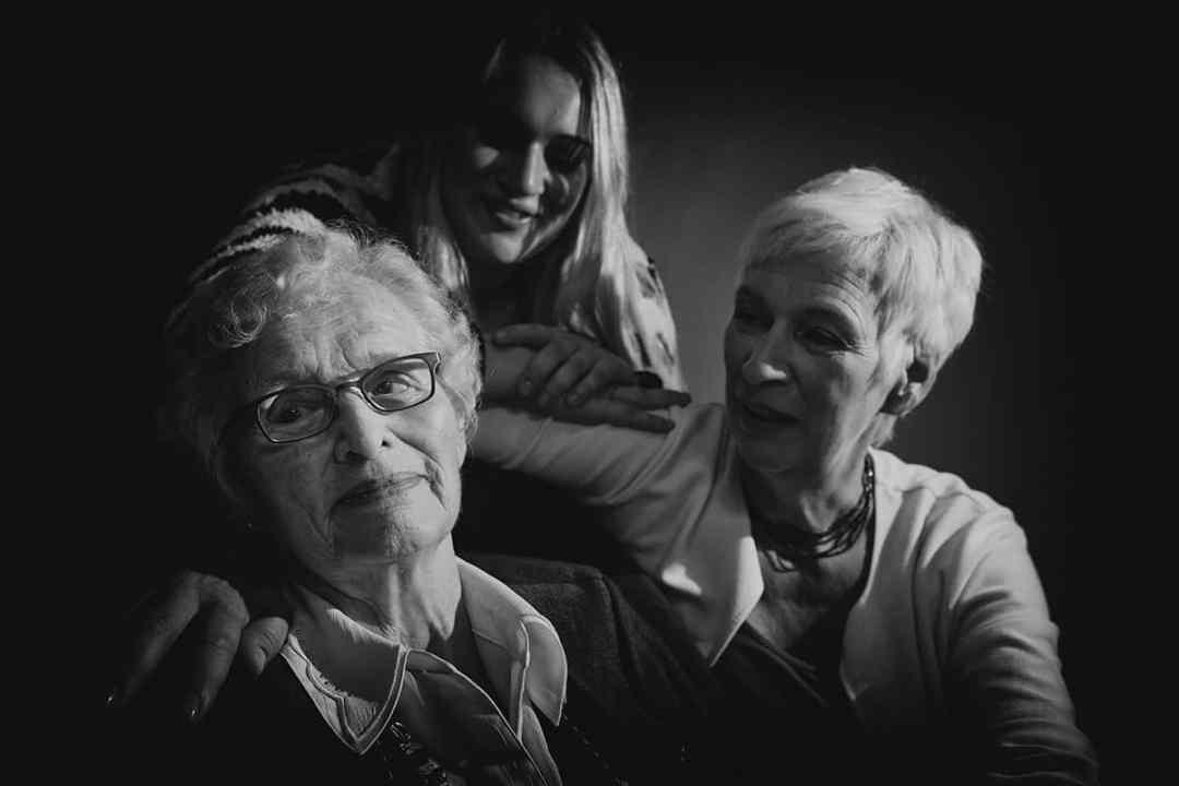 fotografie moeder dochter oma portret 3 generaties