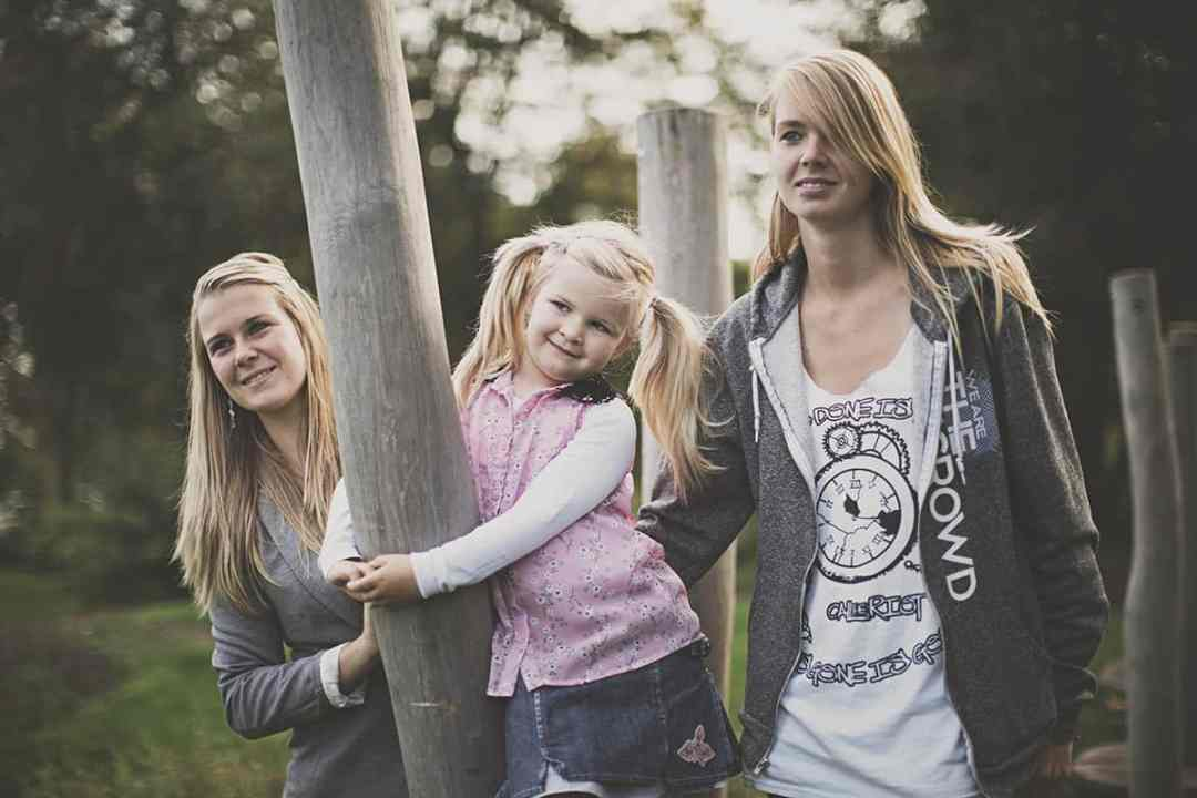 fotografie moeder & dochter portret fotostudio Nieuw-Vennep