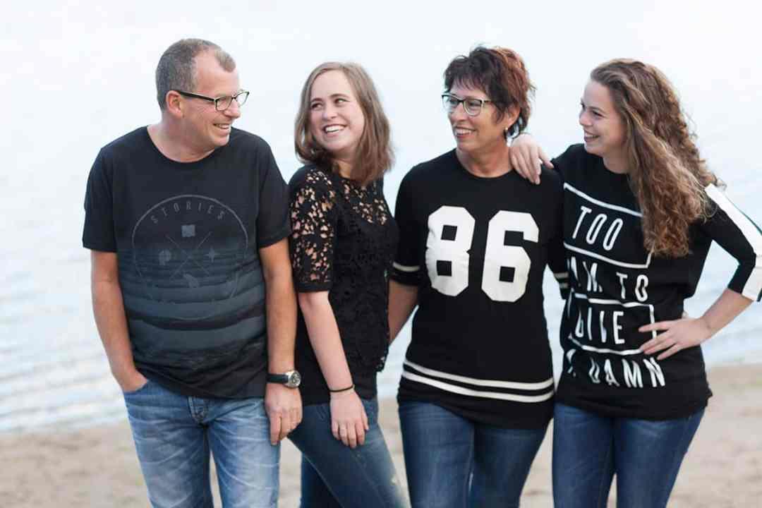 cadeau fotoshoot gezin buiten Hoofddorp fotograaf