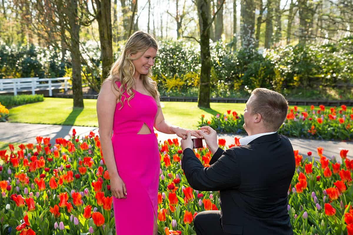 Wedding Proposal Keukenhof Keukenhof Fotografie
