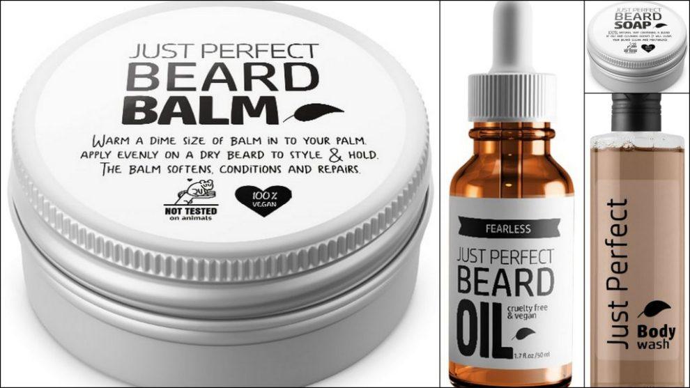 verzorgingsproducten voor mannen met baard
