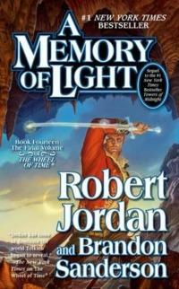 boekomslag Robert Jordan & Brandon Sanderson - Memory of light (Wheel of time 14)
