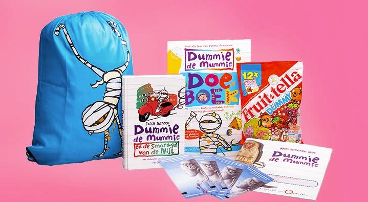 WINACTIE AFGELOPEN: Win een prijzenpakket van Dummie de mummie & Fruittella Dummy