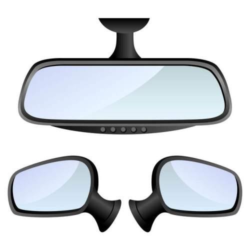 Autospiegels afstellen