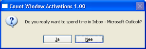 CountWindowActivations popup spend time