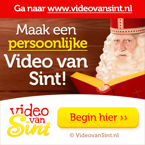 Video van Sint banner
