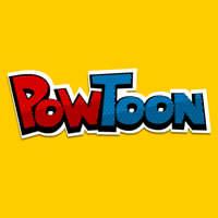 PowToon logo vierkant