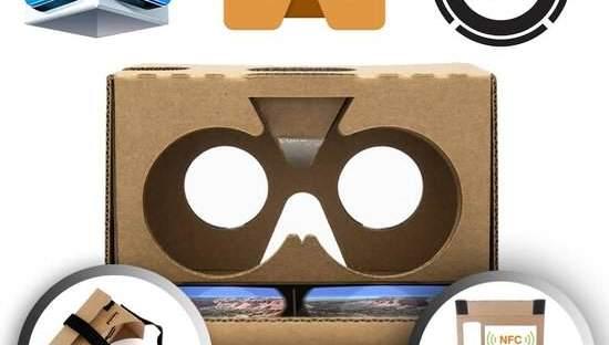 Google Cardboard V2 met hoofdband en NFC-chip