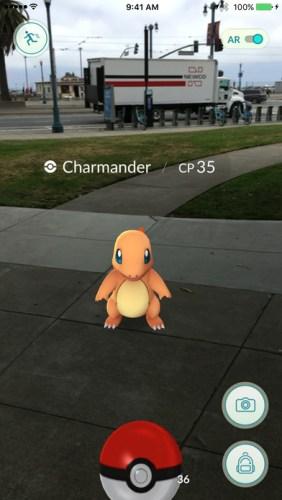 Pokémon Go - Charmander vangen