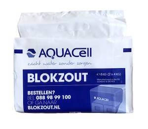 AquaCell blokzout tasje 8 kilogram