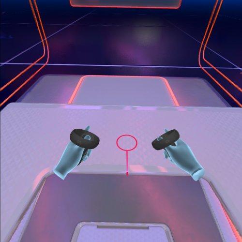 Oculus Quest - Handen met controllers