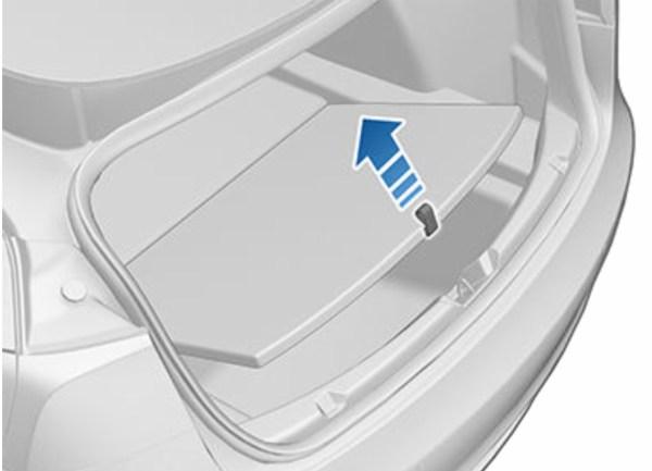 Extra ruimte onder de kofferbak