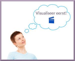 visualiseer eerst