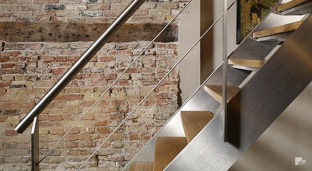Stainless Steel Staircase   Steel Design For Stairs   Spiral   Elegant Steel   Architectural Steel   Simple   Stringer