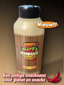 hete saus van Peppr-it