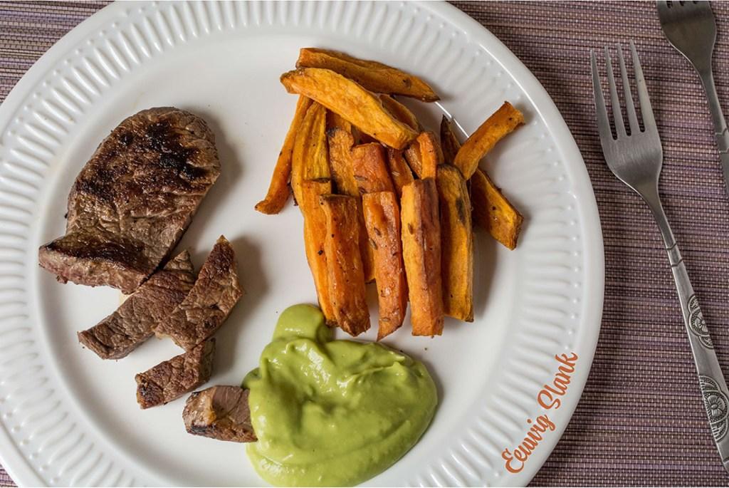 Biefstuk met Zoete aardappel_Artikel