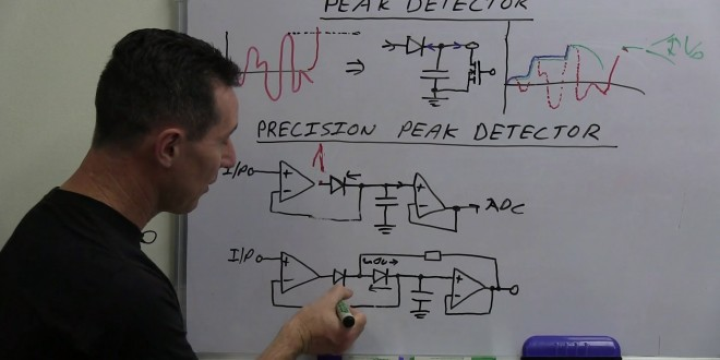 Eevblog 490 Peak Detector Circuit Youtube