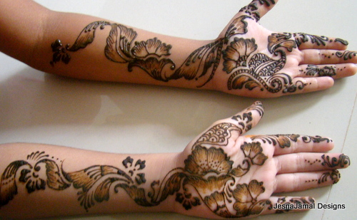 Mehndi Art Step By Step : How to mehndi design on hands step by life chilli