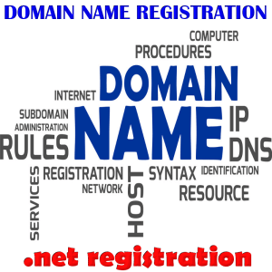 Register a .net Domaing