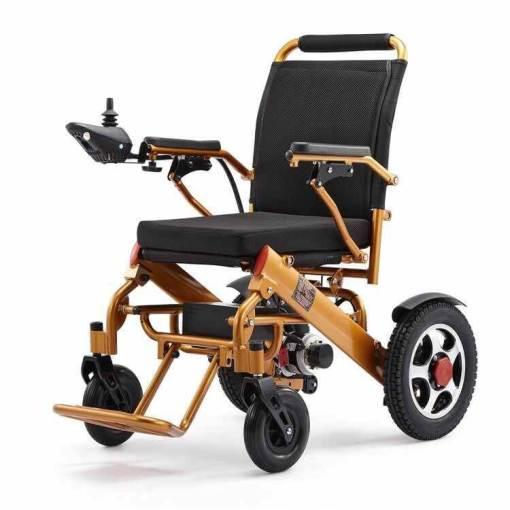 EeZeeGo-LW2 Gold Electric Wheelchair