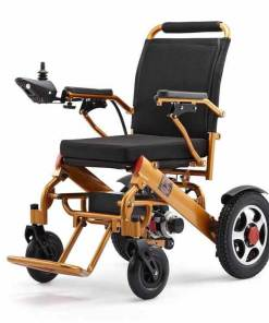 EeZeeGo-LW2 Gold Electric Wheelchair