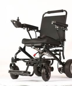 EeZeeGo-LW1 Folding Electric Wheelchair Frontview