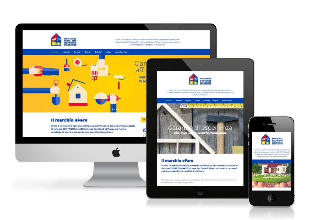 sito internet efare schermata