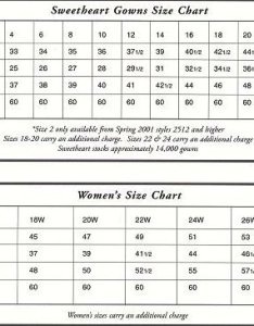 Sweetheart size chart also gowns thebridalshop rh bridalworks