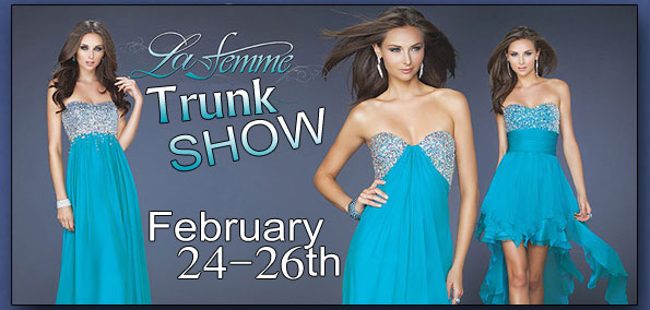 LaFemme Dresses Trunk Show in Baltimore