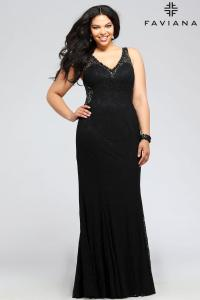 After Five Plus Size Dresses - Holiday Dresses
