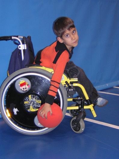 Korfbal en silla de ruedas Inclusin coeducacin y