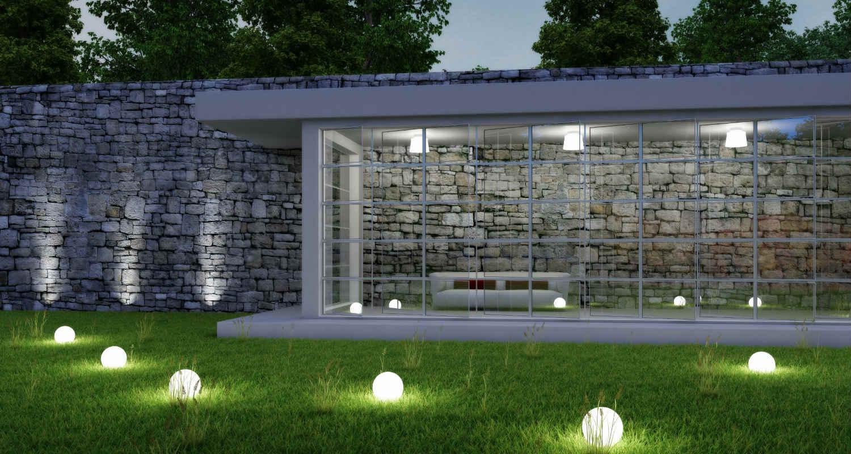Mobiliario LED para exteriores