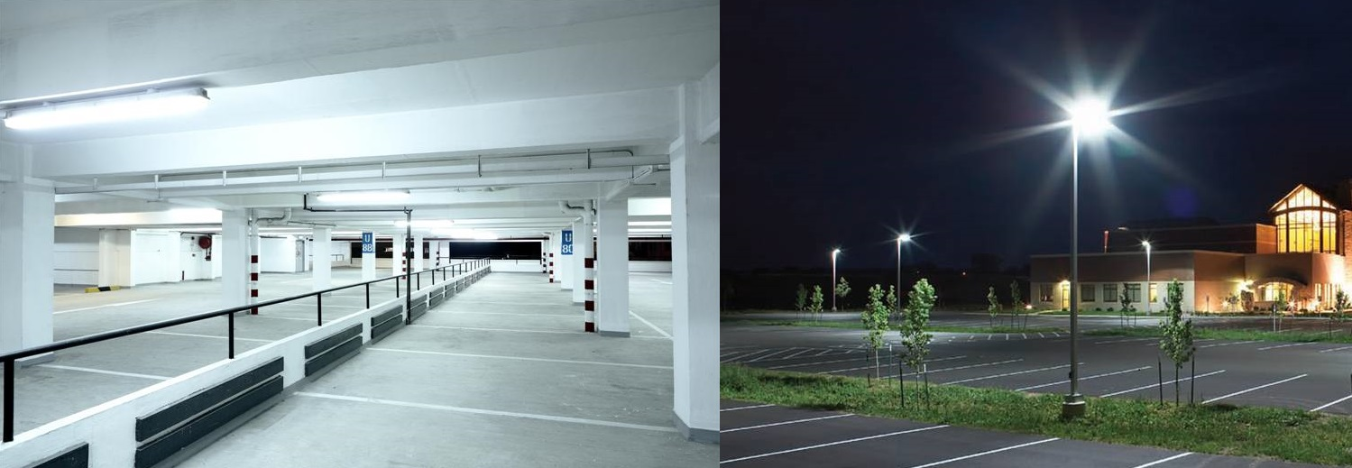 Iluminacin LED en parkings y garajes  Blog efectoLEDcom