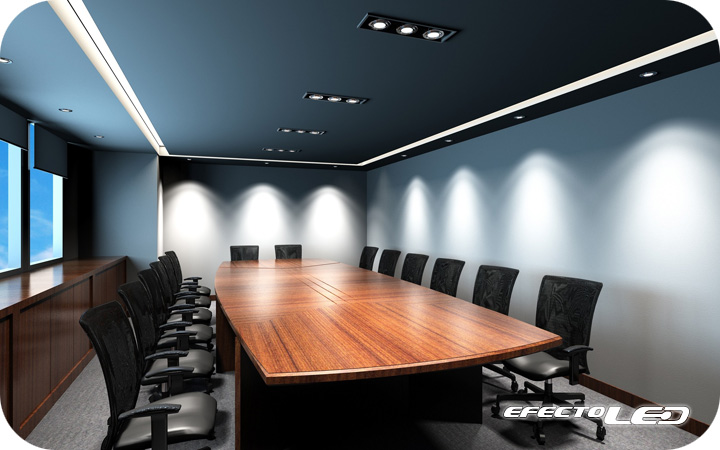 Ambientes con iluminacin LED  efectoLED