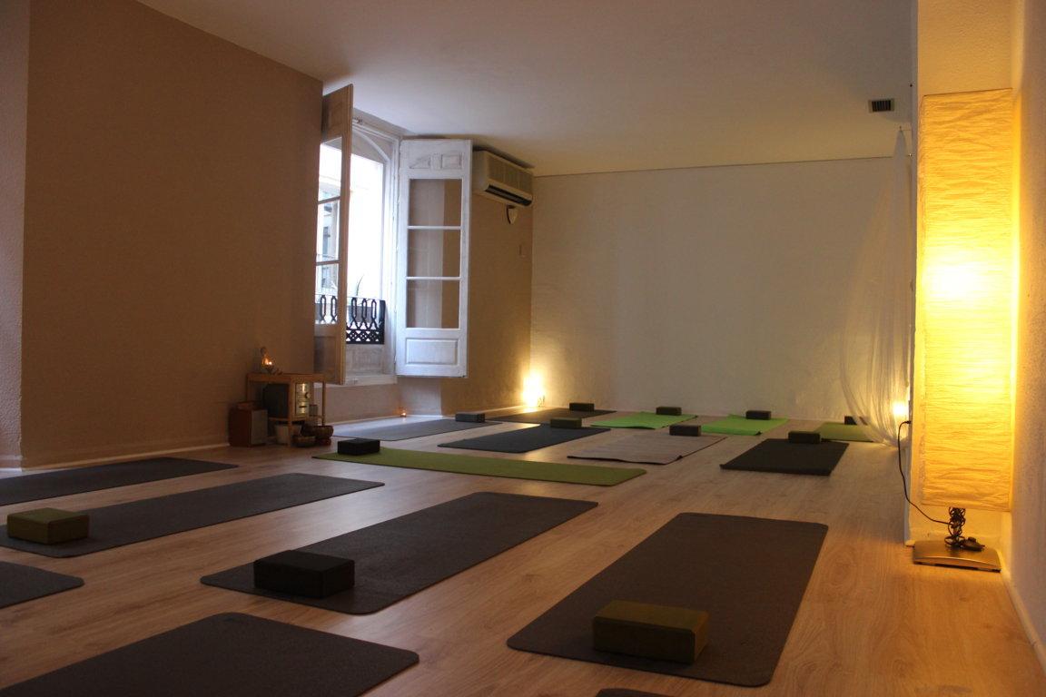 Disponibilidad de salas  Efecto Yoga Mlaga