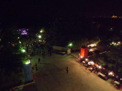 Εικόνα χώρου του Φεστιβάλ από τη Β