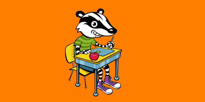 Badger at School