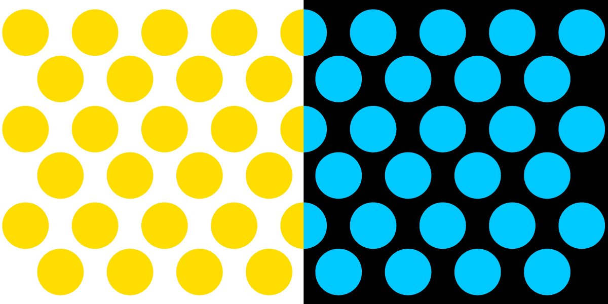 eff s yellow dots