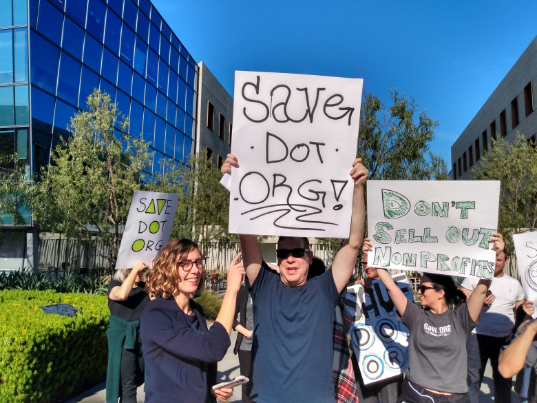 .ORG demonstration at ICANN