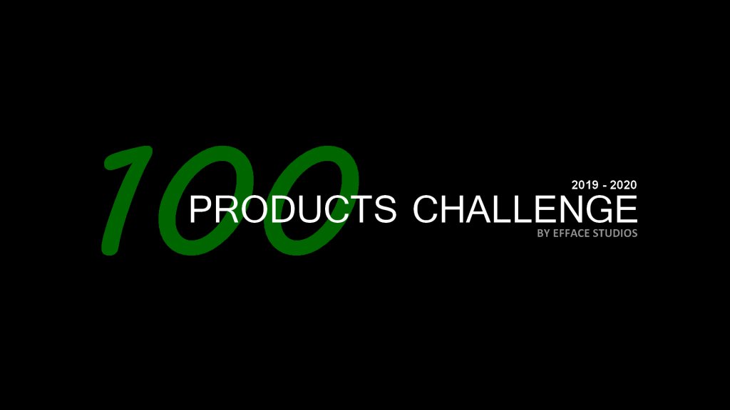 100 PRODUCTS CHALLENGE