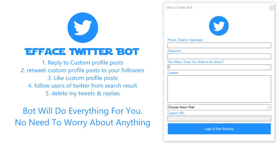 efface twitter bot