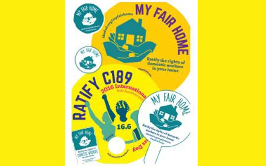 Sign the pledge 'My Fair Home'!