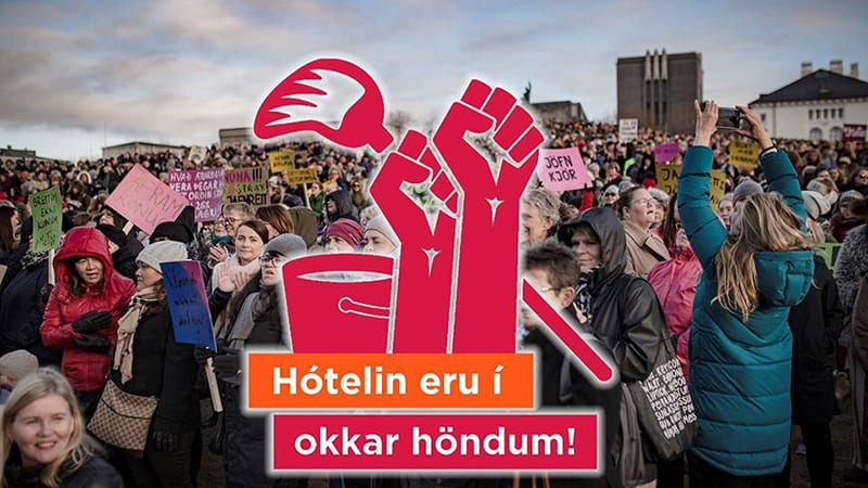 Hotel Workers in Iceland are demanding decent living wages! Show you're with them!