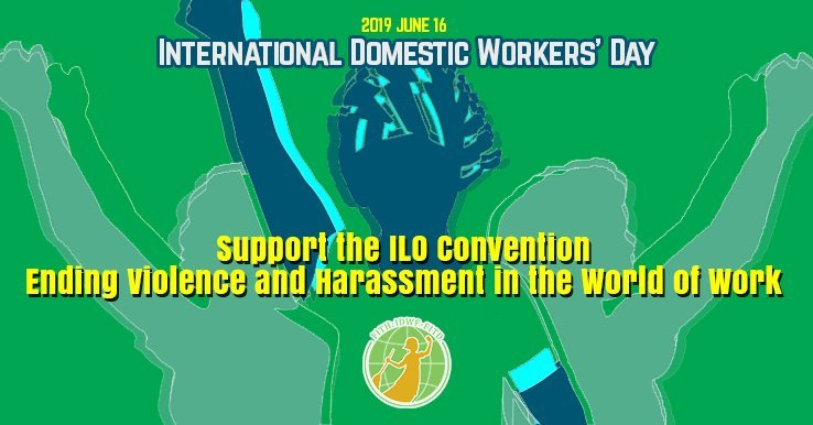 International Domestic Workers Day – support the ILO Convention to end violence and harassment at the workplace!