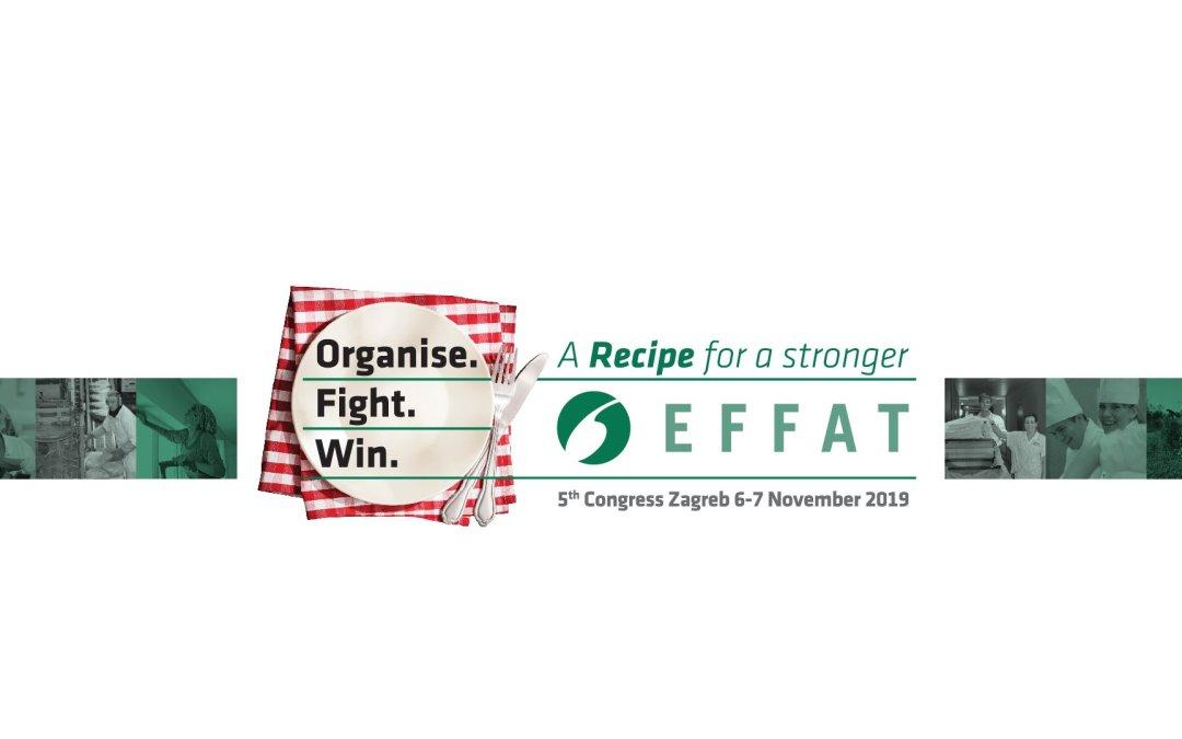 5th EFFAT Congress | Zagreb, 6-7 November 2019