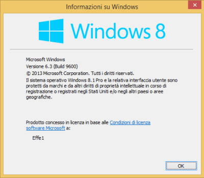 Windows 8.1 Pro - WinVer