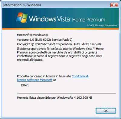 Windows Vista - WinVer