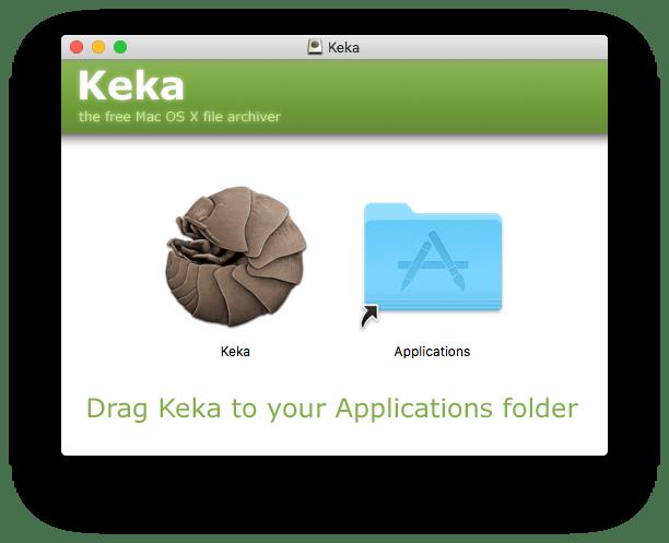 Mac OS - Installazione Keka